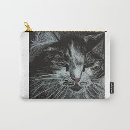 Oreo the cat Carry-All Pouch