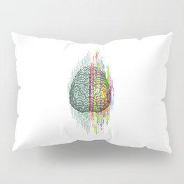 The Mind - Brain Dichotomy Pillow Sham