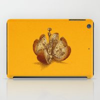 clockwork orange iPad Cases featuring Steampunk Orange by Eric Fan