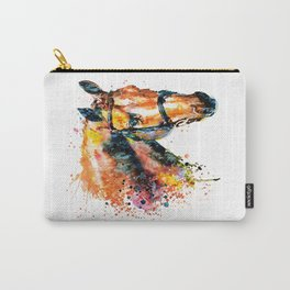 Colorful Horse Head Carry-All Pouch