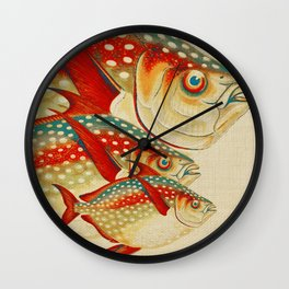 Fish Classic Designs 1 Wall Clock