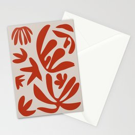 Tropical Mediterranean Terracotta Stationery Cards