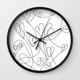love will keep us together Wall Clock