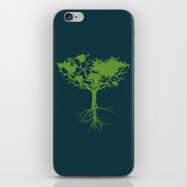 Earth Tree iPhone Skin