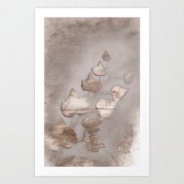 Melancholic  Art Print