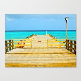 Paradise Pier Canvas Print