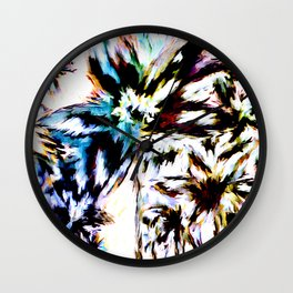 Palm Trees In Juno Wall Clock