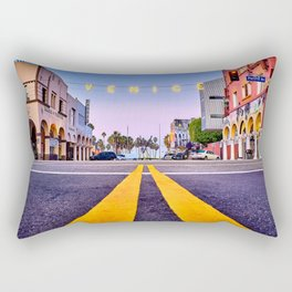Venice Beach California Rectangular Pillow