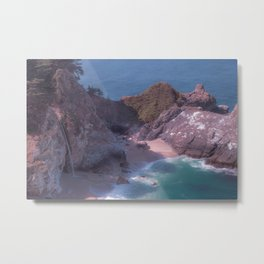 Big Sur Cove Metal Print