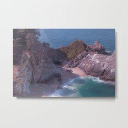 Big Sur Cove Metal Print