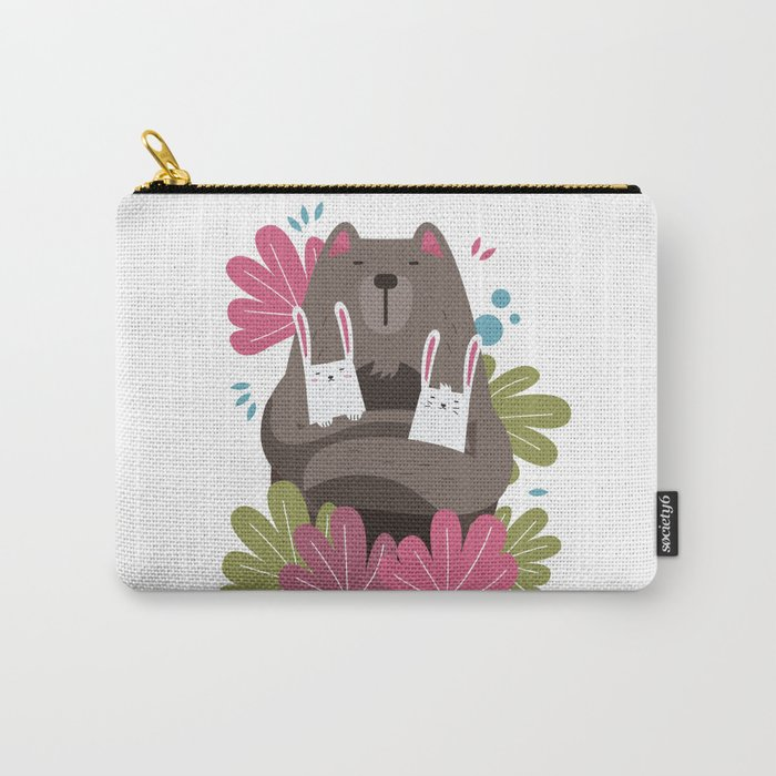 Love and Cute Carry-All Pouch