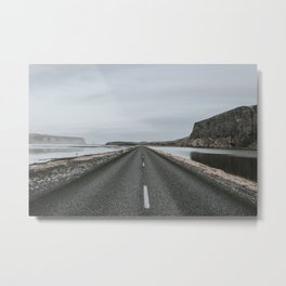 Empty Road - A Love Story Metal Print
