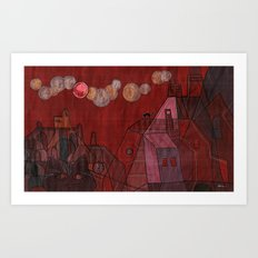 the catterfly effect Art Print