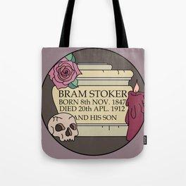Remember Bram Stoker - Golders Green Crematorium - Dracula Tote Bag
