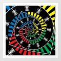 Spinning Disc Golf Baskets by perkinsdesigns