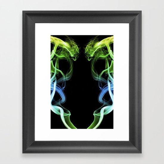 Smoke Photography #34 Framed Art Print