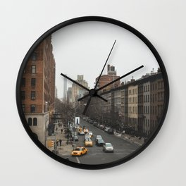 Streets of New York vol. 04 Wall Clock