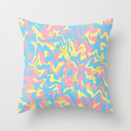 Vanilla Chewing Gum Throw Pillow