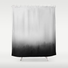 Misty Forest I Shower Curtain