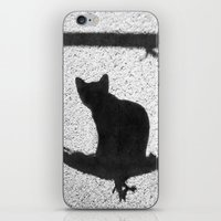 kitty iPhone & iPod Skins featuring Kitty by SensualPatterns