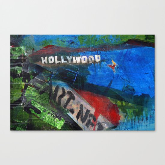 Holly Would Canvas Print