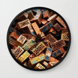 Chinese Bricks Wall Clock