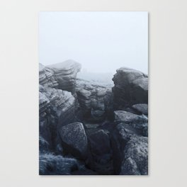 ominous view Canvas Print