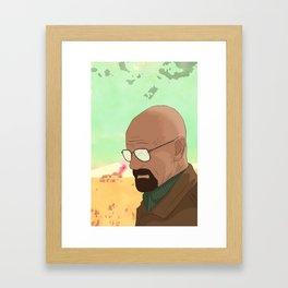 GTA Walter White Framed Art Print