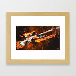Sniper Rifle 1 Framed Art Print