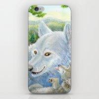 minnesota iPhone & iPod Skins featuring Minnesota Wolves by MelanieLehnen