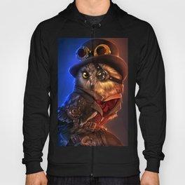Steampunk owl Hoody