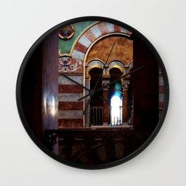 Inside a Church Wall Clock