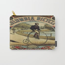 Vintage poster - Columbia Bicycle Carry-All Pouch