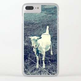 Independent Goat Clear iPhone Case