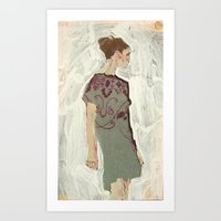 study Art Prints featuring Study by Suzanna Schlemm