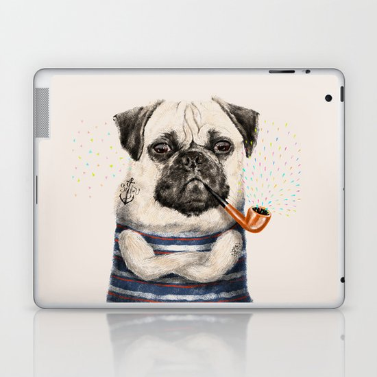 Mr.Pug Laptop & iPad Skin