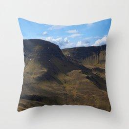 The Trotternish Ridge Throw Pillow