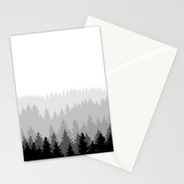 Forest drawing Stationery Cards