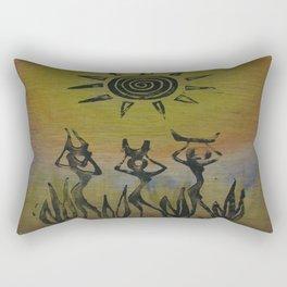 Gatherers Rectangular Pillow