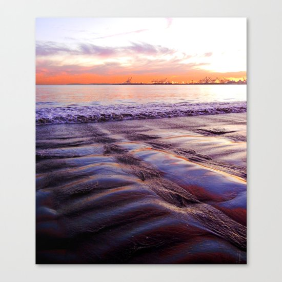 grooves Canvas Print