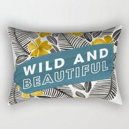 Wild & Beautiful – Yellow Palette Rectangular Pillow