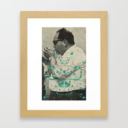 Golden Times Framed Art Print
