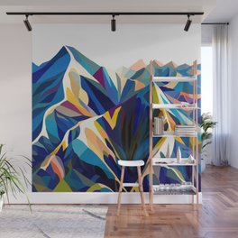 Mountains cold Wall Mural