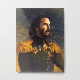 Keanu Reeves Poster, Classical Painting, Regal art, General, John Wick, Matrix, Actor Print Metal Print