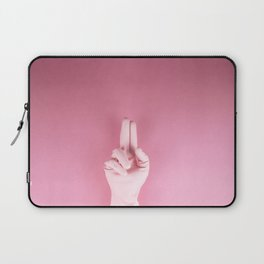 Mighty pink glove Laptop Sleeve