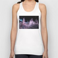 hogwarts Tank Tops featuring Hogwarts by Anabella Nolasco