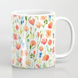 California poppy PATTERN Coffee Mug