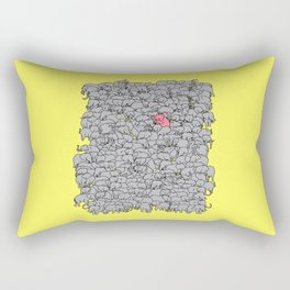 Stand Out & Be Herd Rectangular Pillow