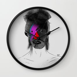 Bowie! Master of reinvention Wall Clock