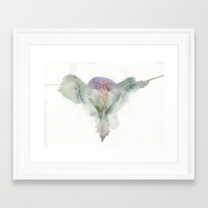 Canon's Vulva Print No.1 Framed Art Print